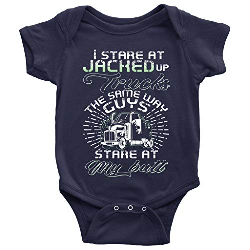 Jacked Up Trucks Baby Bodysuit, I Love My Truck Driver for sale  Delivered anywhere in USA