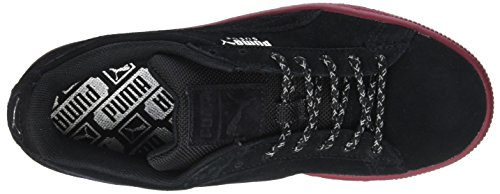 Puma Suede Classic Weatherproof, Sneakers Basses Mixte Adulte Noir (Black-tibetan Red)