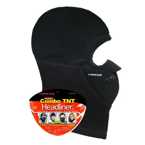 - Seirus Innovation 2212 Neofleece Thick-N-Thin Combo Headliner - Winter Cold Weather - Head Face and Neck Protection