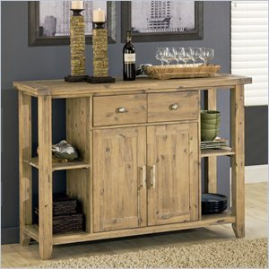 Modus Furniture 8FM273 Autumn Solid Sideboard, Reclaimed Wood