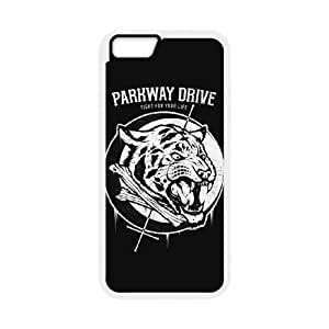 IPhone 6 Plus 5.5 Inch Phone Case for Classic theme Parkway Drive pattern design GCTPKDV879886