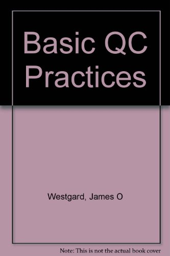 Basic Qc Practices-Manual: Training in Statistical Quality Control for Healthcare Laboratories