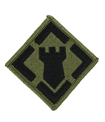 Engineer Brigade Patch - PMV-0020A, 20th Engineer Brigade MultiCam Patch with Fastener(A-1-460) PATCHES & TABS-W/VELCRO