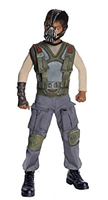 Batman Dark Knight Rises Childs Deluxe Bane Costume And Mask - Medium by Rubies
