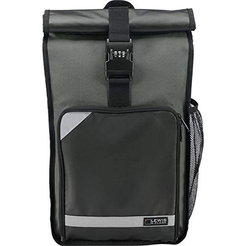 Lewis N. Clark Lockdown Locking Day Pack, Laptop Bag Backpack Daypack, Gray ()