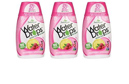 Sweetleaf Water Drops 1.62 fl.oz. 3 Pack (Raspberry Lemonade)