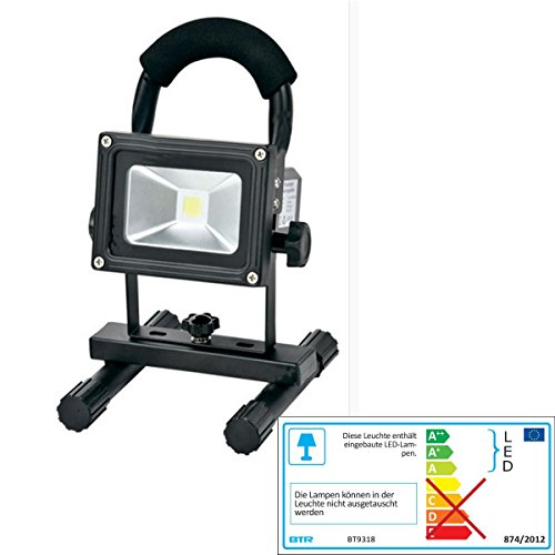 Betterlighting BT9318 A++ to A, Flut- und Spotbeleuchtung, Aluminium, schwarz, 14,5 x 16 x 24 cm