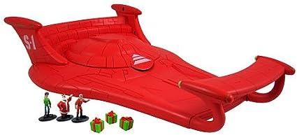 Amazon Com Arthur Christmas Vehicle With Mini Figures S1 Sleigh Toys Games