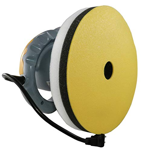 Eckler's Premier Quality Products 57-288859 Random Orbital Polisher (10'') With Bonus Bonnets | AutoSpa 94001AS