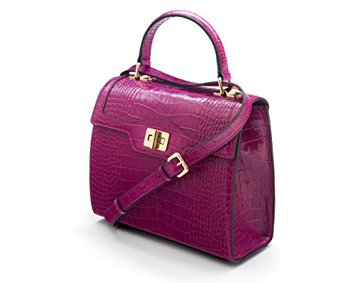 Morgan SAGEBROWN Croc Bag Pink The Y8q85w