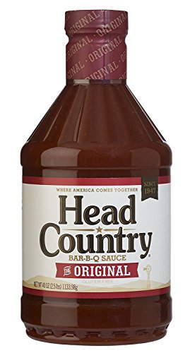 Head Country Bar-B-Q Sauce, Original, 40 Ounce