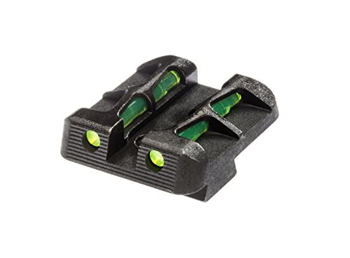 - HIVIZ GLLW15 40 S&W and 357 Sig Sauer Interchangeable LITEWAVE Rear Right for Glock, 9mm