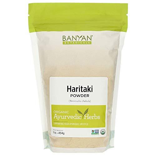 Banyan Botanicals Haritaki Powder - Certified Organic, 1 Pound - Terminalia chebula - Detoxification & Rejuvenation*