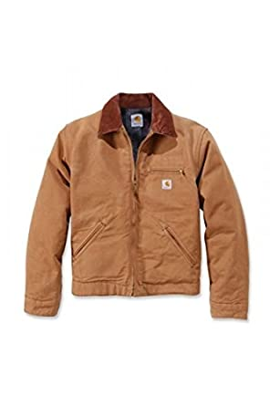 Carhartt Jacke Duck Detroit Jacket Brown-L