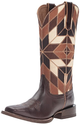 Shades Chocolate Bittersweet Cowboy Mirada Ariat Women's Of Western Brown Boot xXYq0wq