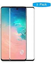 FanTing for Samsung Galaxy S20 Plus Screen Protector,[9H Hardness,Full Coverage,No bubbles and fingerprint],Scratch-resistant high-quality tempered glass film for Samsung Galaxy S20 Plus-Black(1 Pack)
