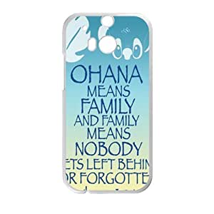 DAZHAHUI OHANA Family Cell Phone Case for HTC One M8