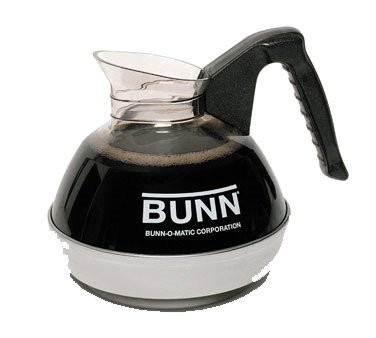 Bunn Coffee Decanter Plastic 6 pack - 06100.0156 by Bunn