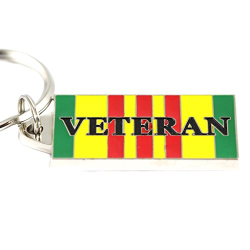 - Vietnam Veteran Service Ribbon Keyring Military Keychains Patriotic Gifts Vets