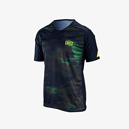 100% Airmatic Enduro/Trail - Maillot manches courtes Homme - vert/noir 2018 maillot cyclisme homme le camo