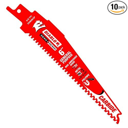 DS0609CGP10 Carbide Tipped General Purpose Blade 6