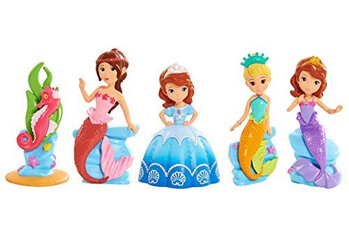 Sofia Disney The First Royal Friends Mermaid Figure Set  Multicolour