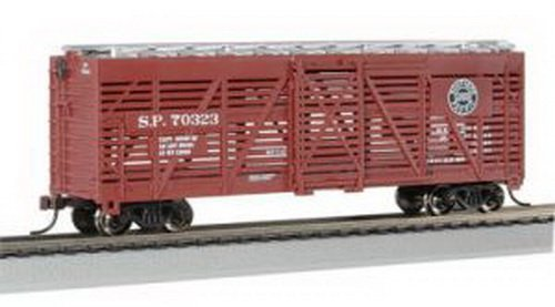 Bachmann Trains Southern Pacific 40' Stock Car-Ho Scale, used for sale  Delivered anywhere in USA