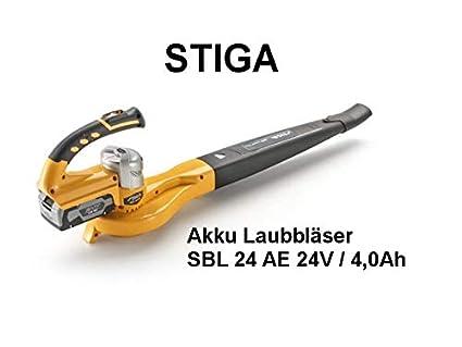 Stiga 130094 SBL 24 - Soplador de Hojas con batería (Incluye ...