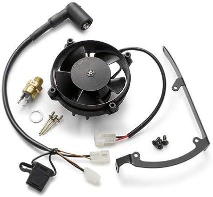 KTM Radiador Kit De Ventilador – 81235941144: Amazon.es: Coche y moto