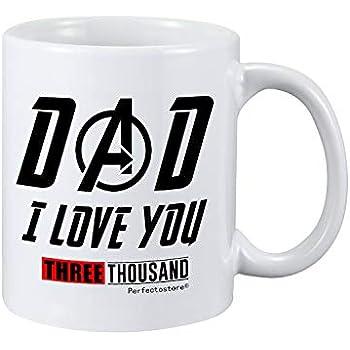Amazon com: Dad I love you 3000 avengers End Game Iron Tony Stark