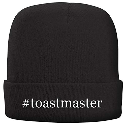 BH Cool Designs #Toastmaster - Adult Hashtag Comfortable Fleece Lined Beanie, Black