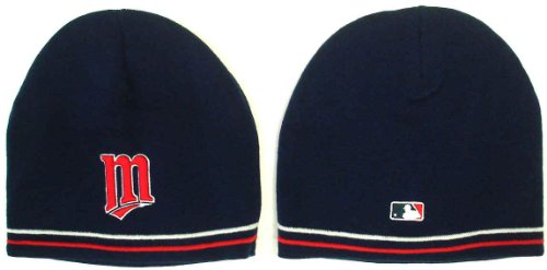 New Era Toque (Minnesota Twins Knit Player's Performance Beanie (Skull Cap) Stocking Hat (Toque))