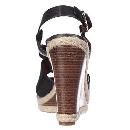 Cole Haan  Breecey Wedge, Damen Sandalen schwarz schwarz, schwarz - schwarz - Größe: 40