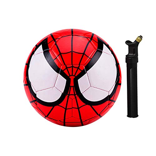 Athlecti Pre Liga Spiderman Kids Soccer Ball with Pump Size 3 (Batman Soccer Ball)