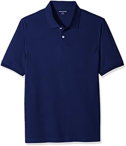 Amazon Essentials Men's Cotton Pique Polo Shirt