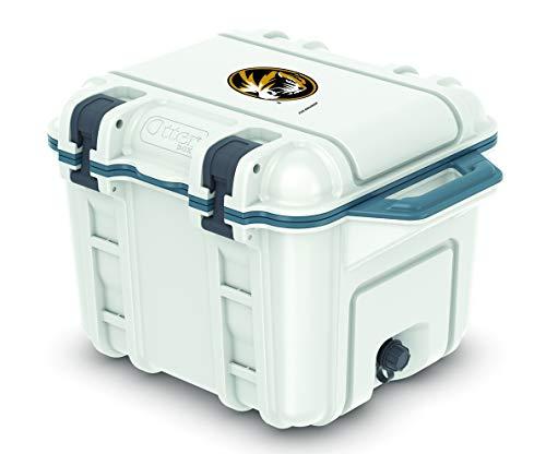 Fan Brander NCAA Design on OtterBox 25 qt Hudson Cooler (Missouri Tigers)