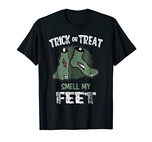 Trick or Treat Smell My Feet Kids T-Shirt]()
