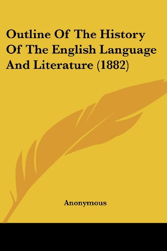 Of pdf outline an english literature