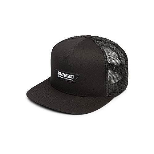 Volcom Men's Trapezoid Five Panel Cheese Hat, Black, One Size Fits All ()
