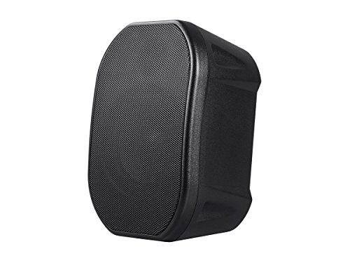 Monoprice Commercial Audio 70V 4-inch Weatherproof 2-Way Speakers with Wall Mount Bracket (Pair ()