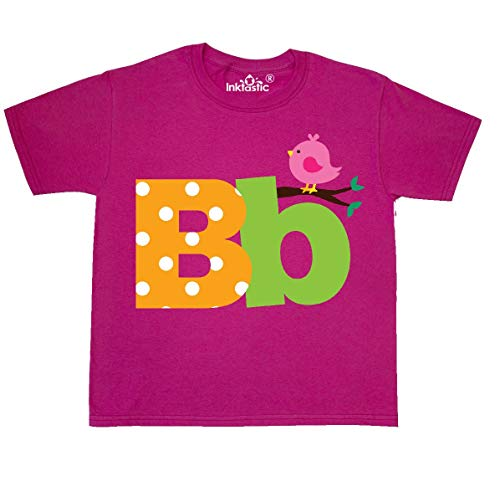 (inktastic - Alphabet Youth T-Shirt Youth X-Large (18-20) Cyber Pink 190fb)