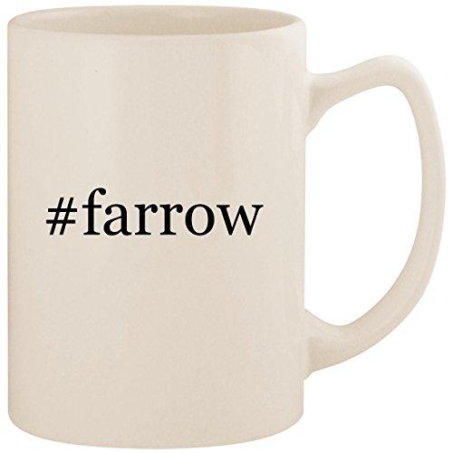 #farrow - White Hashtag 14oz Ceramic Statesman Coffee Mug ()