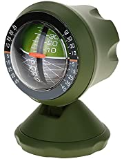 Multifunction Car Inclinometer, Measure Slope Tool, Tilt Gauge Angle Meter Balancer Equipment for Outdoor Driving