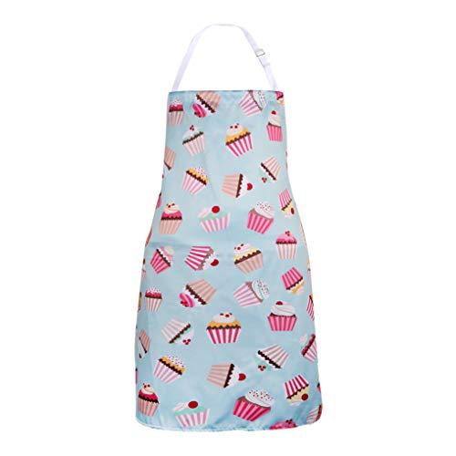 Apron for Men & Women, Cute Cake Apron, Bib Apron for Cooking, Baking,Crafting, Work Shop, Funny Baking Apron Novelty Cooking Chef Gift for Men-Womens Baking BBQ Grilling Kitchen -