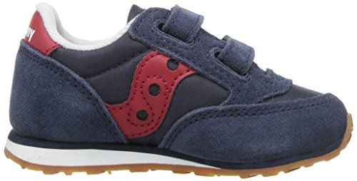 Bambino Rosso Red Inverno B Marineblau 2018 Sneakers Jazz Rot Pelle ST57061 HL Saucony Strappi 8RXqaH