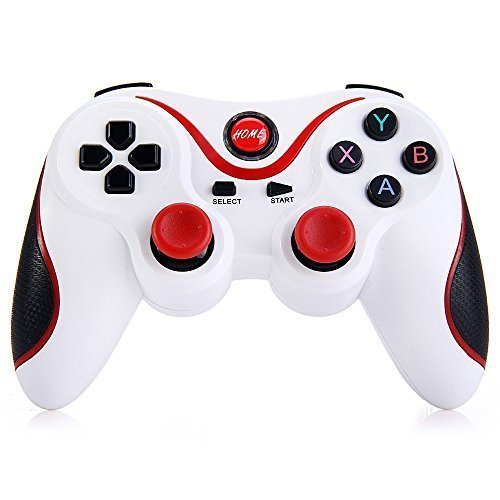 T3 Wireless Bluetooth 3 0 Gamepad Gaming Controller For Android Smartphone  White