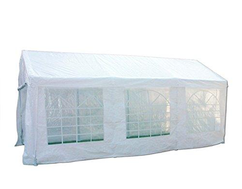 Heavyduty White Tarp Poly Tarpaulin Canopy Tent Shelter Car Multi Purpose by BONNILY (Image #1)