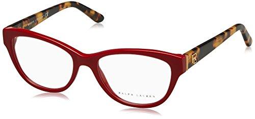 Ralph Lauren RL6145 Eyeglass Frames 5599-52 - Shiny Laque Red - Mens Eyeglasses Lauren Ralph