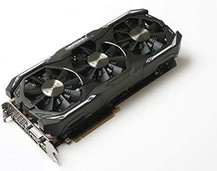 Zotac ZT-P10710B-10P Scheda Grafica da 8 GB GDDR5, 2432 Core, 1607MHz GPU, 1683MHz, Nero