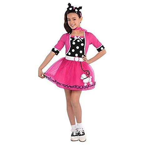 edd935a61f52 Amazon.com: amscan Rockin' 50s | Doo Wop Darling Costume | Small: Toys &  Games